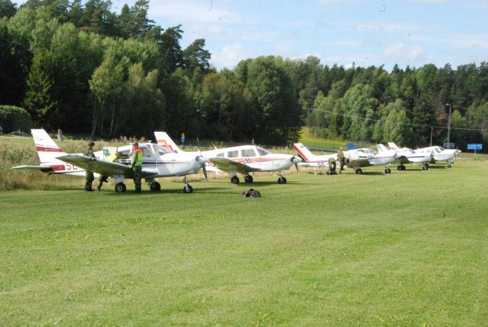 frivilliga flygkåren